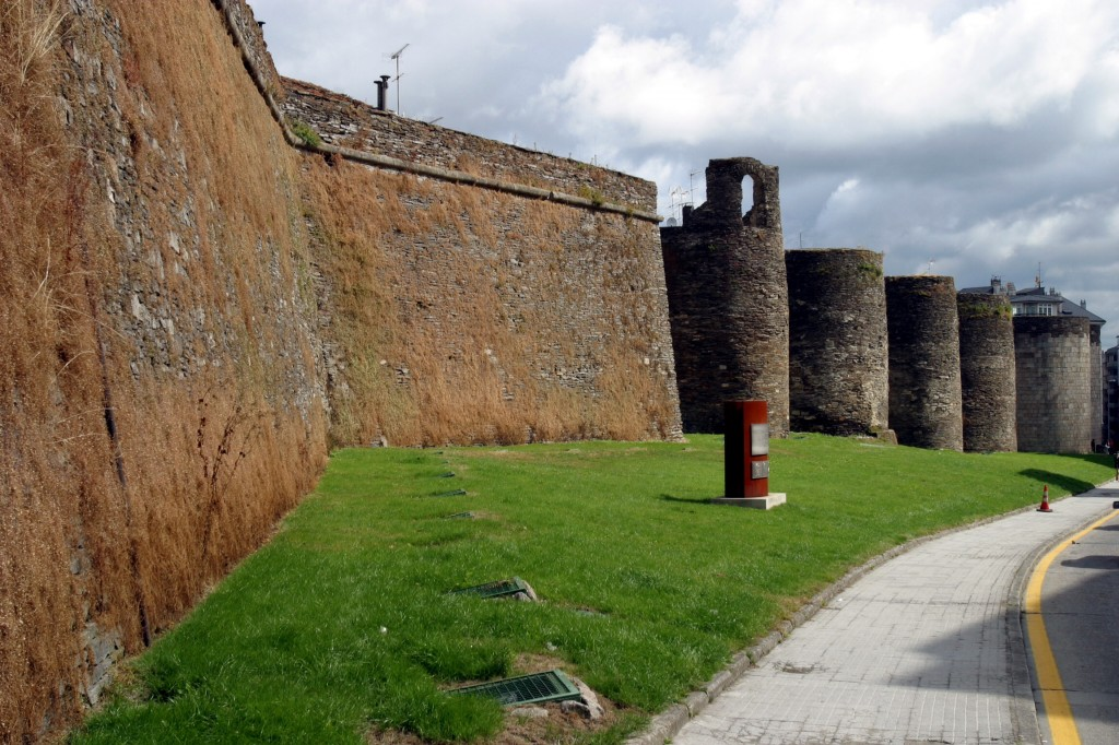 Lugo, searching for the roman traces