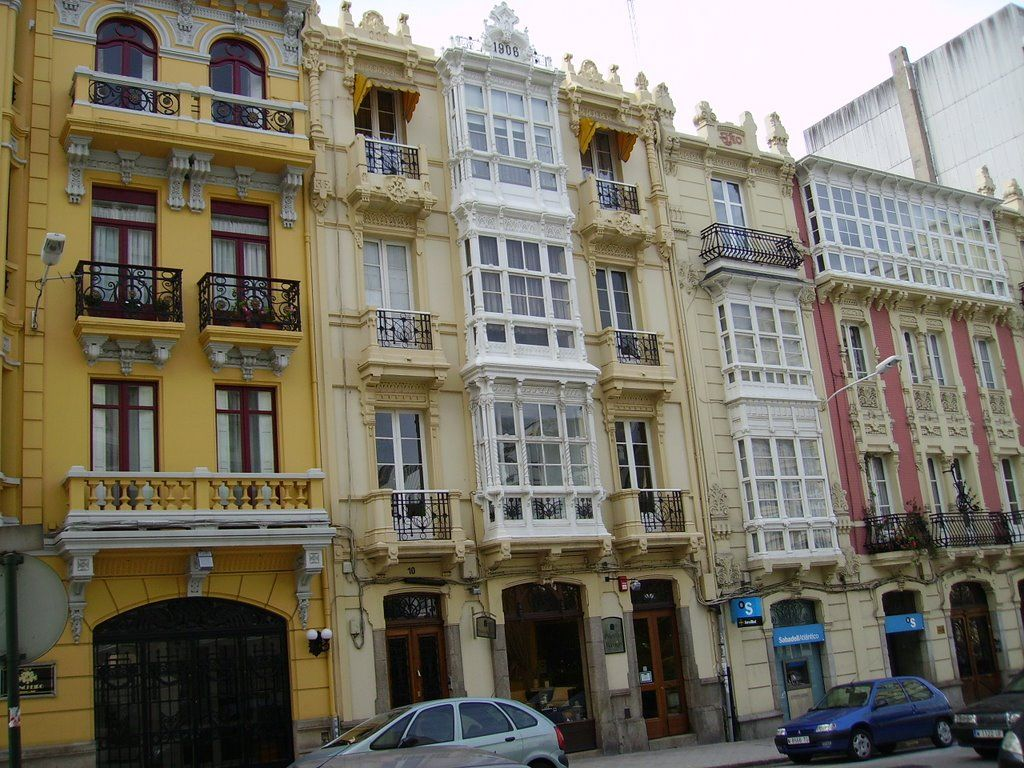 Art Nouveau in the city of Coruña: the residences of the bourgeoisie