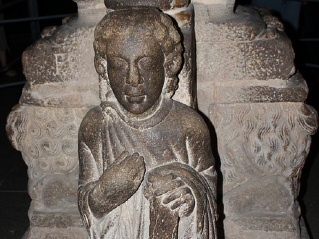The Saint of Croques in the Portico of Glory